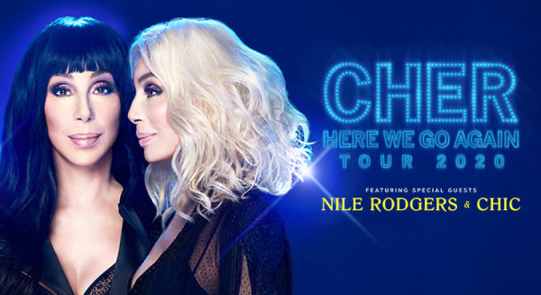 None - Cher Here We Go Again Tour, Friday, March 20th at the North Charleston Coliseum