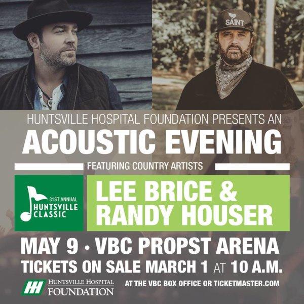 None - Huntsville Hospital Classic Lee Brice