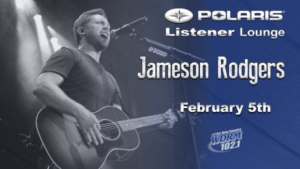 None - Jameson Rodgers in the Polaris Listener Lounge