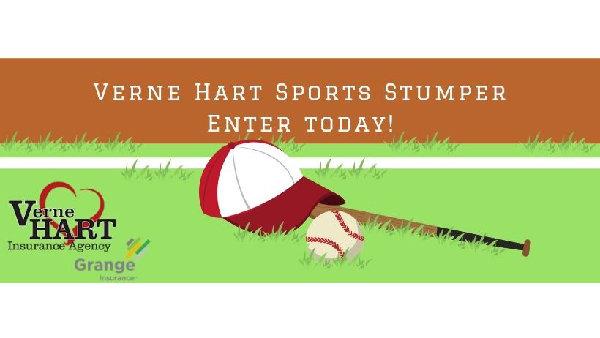 None - Verne Hart Sports Stumper