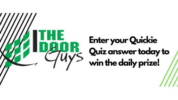 None - Quickie Quiz