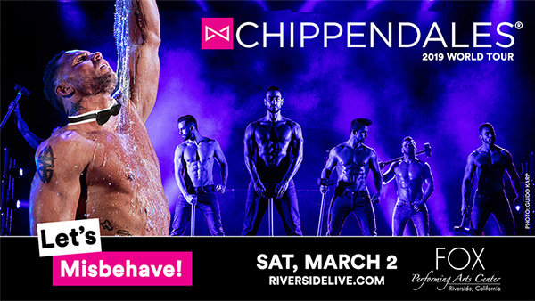 None -   Win Tickets toChippendales: Let's Misbehave 2019 Tour