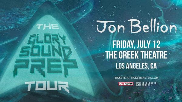 None -   Win Tickets toJon Bellion: The Glory Sound Prep Tour!