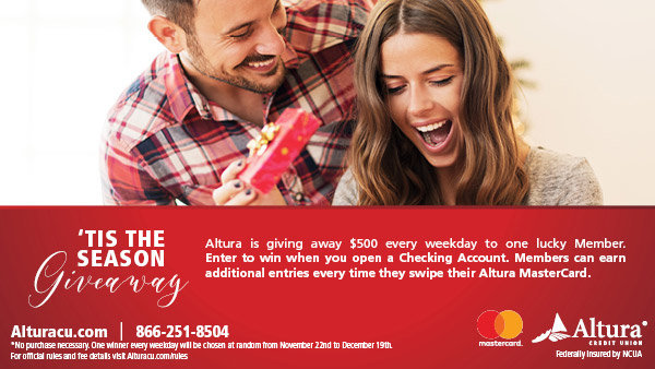 None -   Altura Credit Union's 'Tis The Season Giveaway