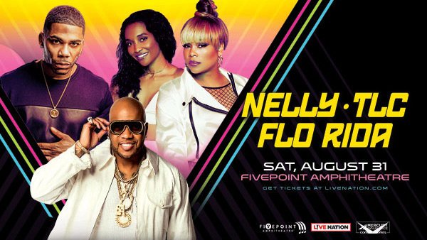 None - Win Tickets to See Nelly, TLC and Flo Rida!
