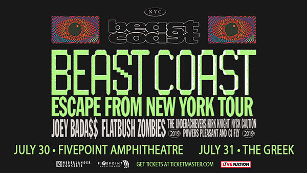 None -   Win Tickets toBeast Coast: Escape from New York Tour!
