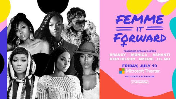 None - Win Tickets to Femme It Forward Feat. Brandy, Monica, Ashanti, Plus More!