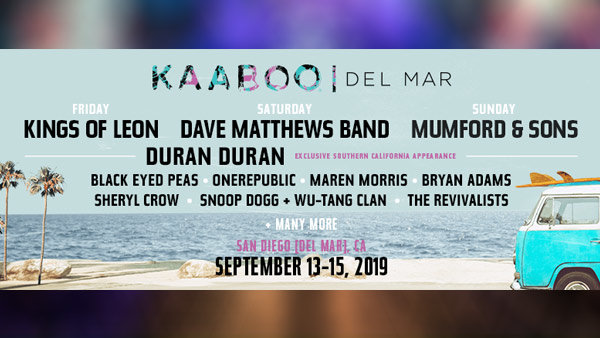 None -   Win Tickets to KAABOO Del Mar!