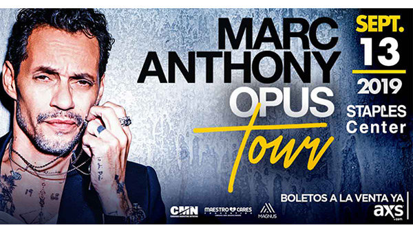 None -   Win Tickets to See Marc Anthony at STAPLES Center!