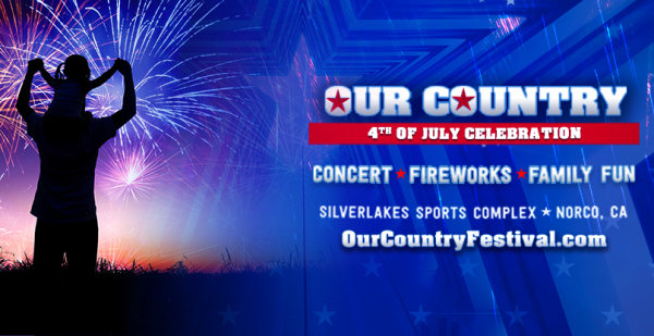 None -   Win Tickets to the Win Tickets to the Our Country 4th of July Celebration!