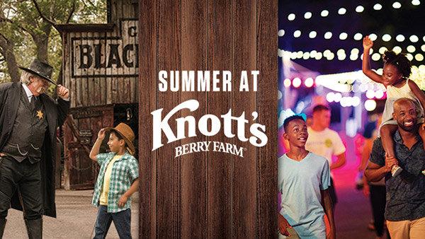 None - Win Tickets to Knott's Berry Farm!