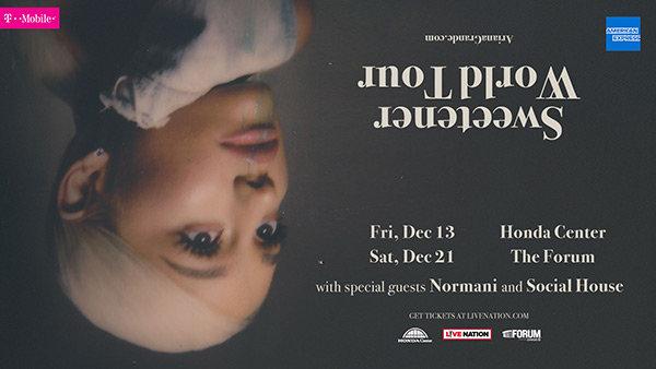 None -   Win Tickets to Ariana Grande's Sweetener World Tour!