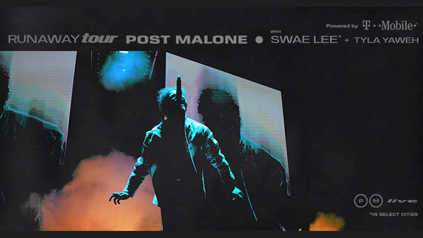 None - Win Tickets to Post Malone Runaway Tour!