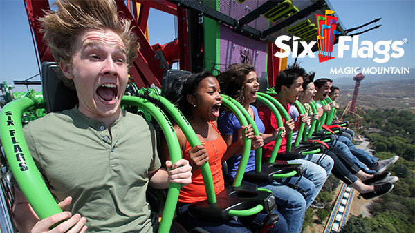 None - Win Tickets to Six Flags Magic Mountain