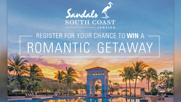 None - WIN a 4-Day Luxury Included® Vacation for 2 to Sandals South Coast Jamaica