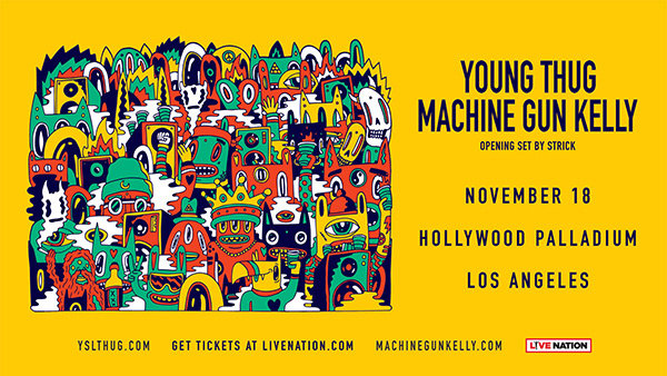 None - Win Tickets to Young Thug & Machine Gun Kelly