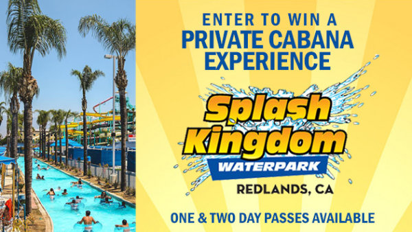 None - Enter to win a Private Cabana Experience at Splash Kingdom Waterpark!