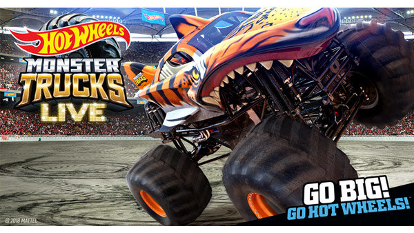 None - Win Tickets to Hot Wheels™ Monster Trucks Live!