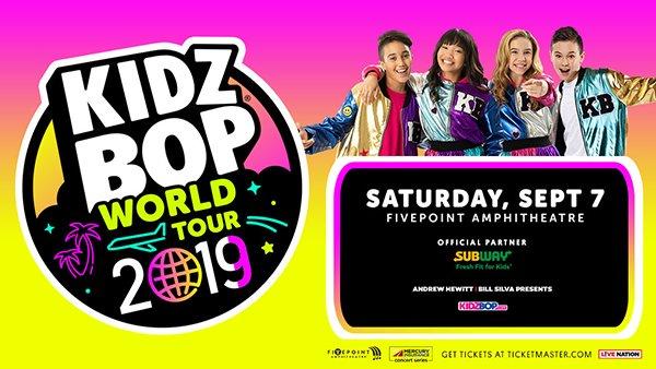None - Win Tickets to Kidz Bop World Tour 2019!