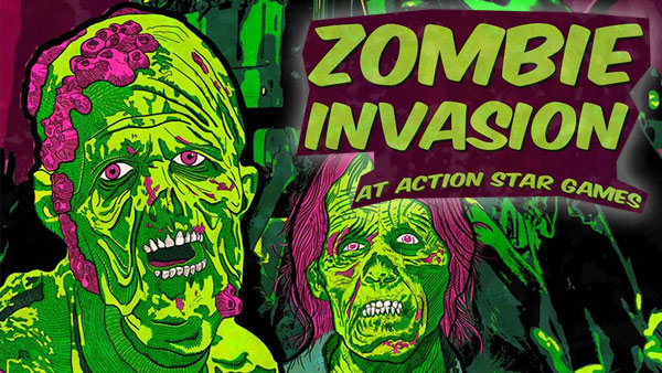 None - Win Tickets to Zombie Invasion at Action Star Games!