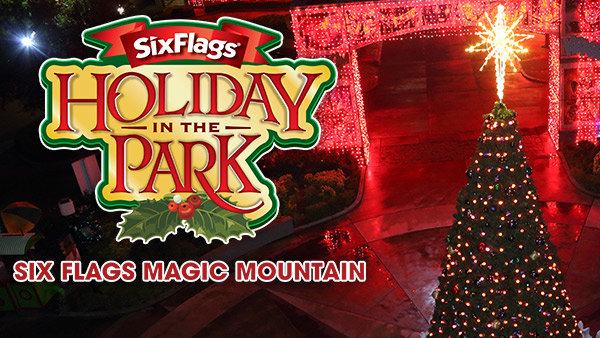 None - Win Tickets to Experience Holiday in the Park at Six Flags Magic Mountain!
