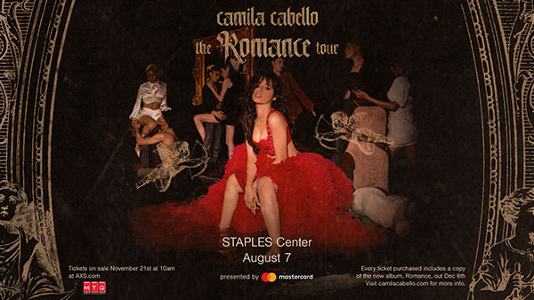 None - Win Tickets to See Camila Cabello at STAPLES Center
