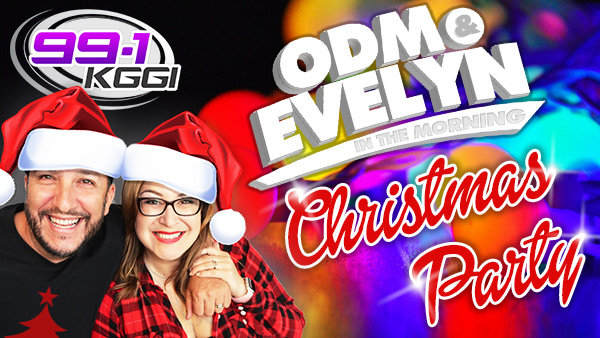 None - Win an Invitation to ODM & Evelyn's Morning Show Christmas Party!