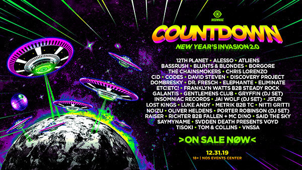 None - Win Tickets to Countdown New Year's Invasion 2.0!