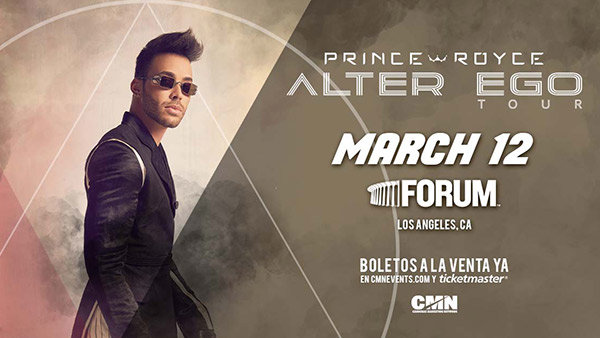 None - Weekend Giveaway: Win Tickets to See Prince Royce at The Forum!