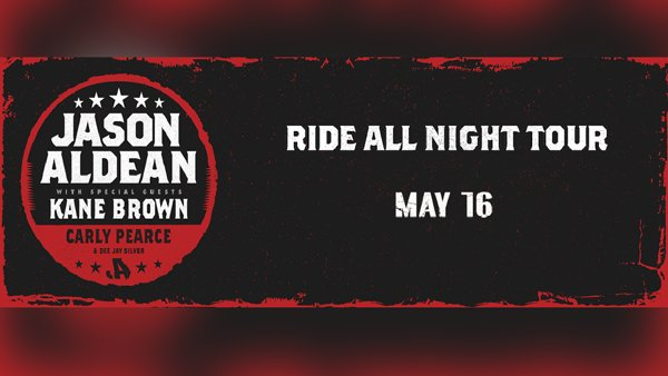 None -  Win tickets to see Jason Aldean at St. Joseph's Health Amphitheater!