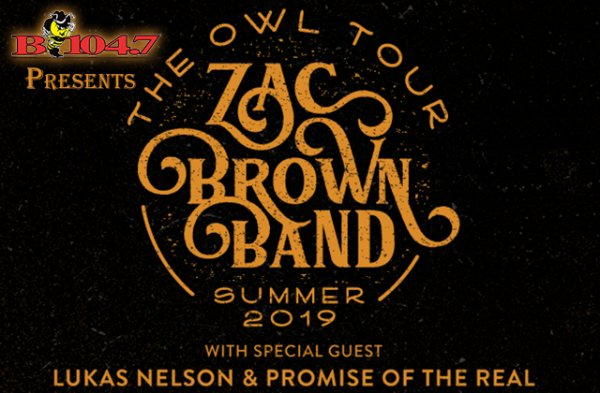 None -  B104.7 Presents: Zac Brown Band! Win Tickets!