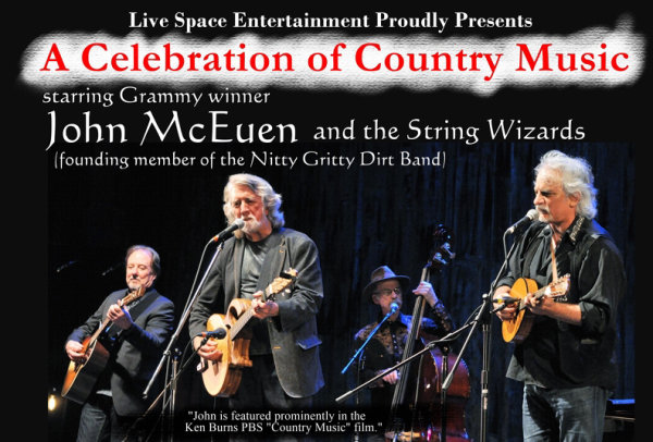 None - Win Tickets to see John McEuen & the String Wizards