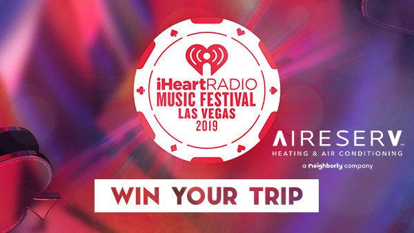None -  Listen to win a VIP trip to our 2019 iHeartRadio Music Festival!