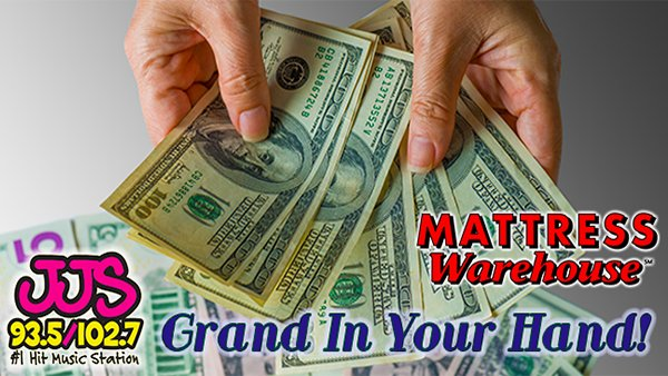 None - Listen To Win $1,000 With A GRAND IN YOUR HAND!