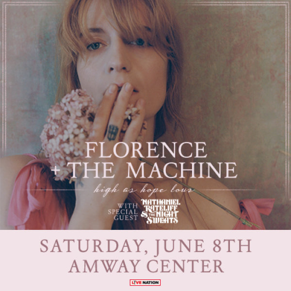 None - Florence + The Machine at Amway Center on 06/08 Tickets Giveaway!