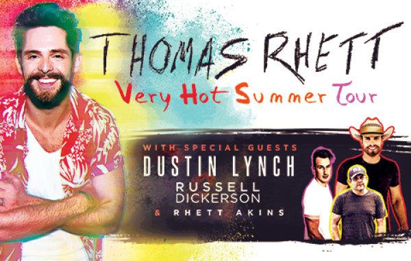 None - Win tickets to see Thomas Rhett at The AMP!