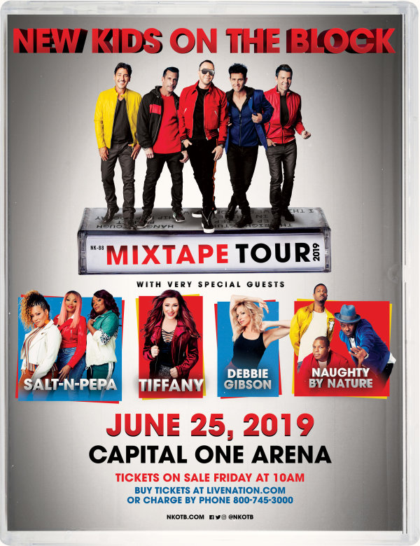 None - Win Tickets to the Mixtape Tour feat. New Kids On The Block!