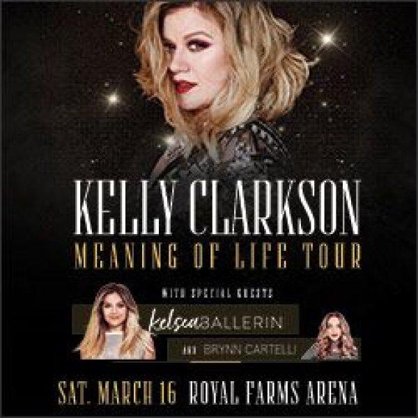 None - Win Kelly Clarkson Tickets!