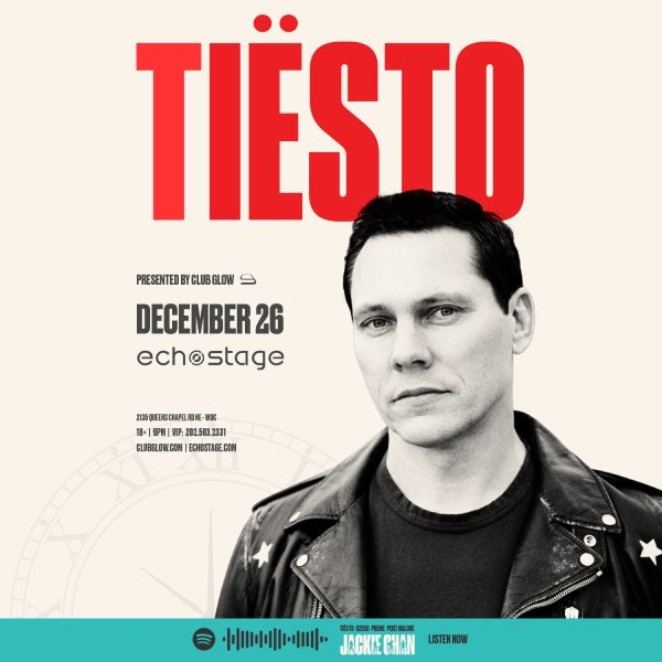 None - Enter to win tickets to see Tiesto!