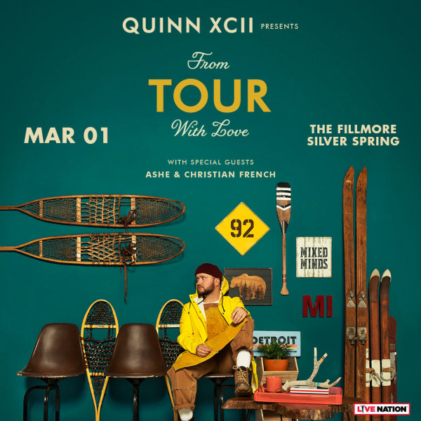 None - Enter to win Quinn XCII Tickets!
