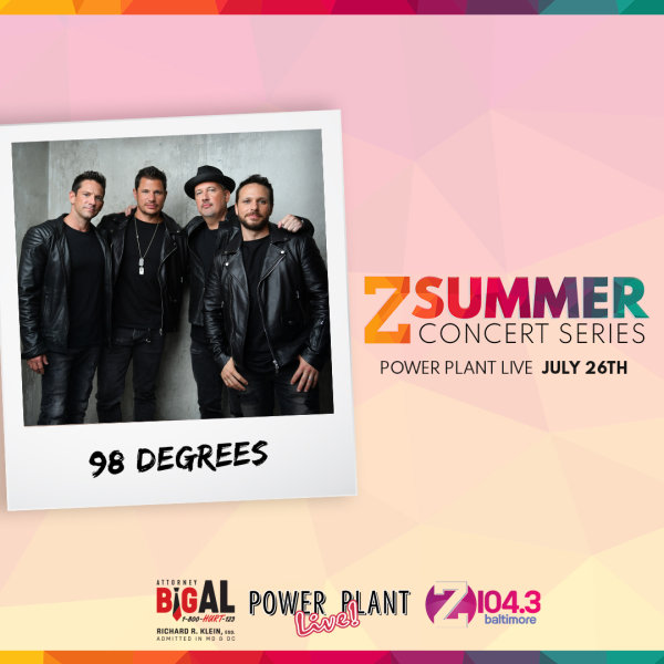 None - Win Z Summer Series: 98 Degrees Tickets!
