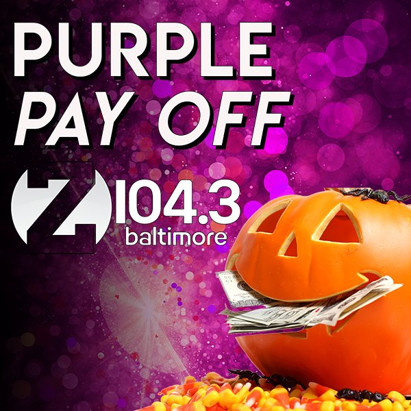 None - Z104.3 Purple Pay Off!