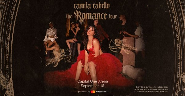 image for Enter to Win Camila Cabello Tickets!