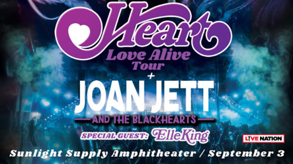 None - Heart w/ Joan Jett - 9/3 @ Sunlight Supply Amphitheater