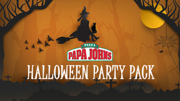 None - Papa John's Halloween Party Pack