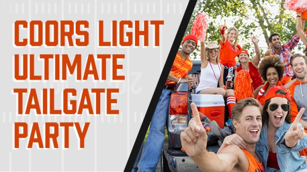 None - Coors Light Ultimate Tailgate Party Giveaway!