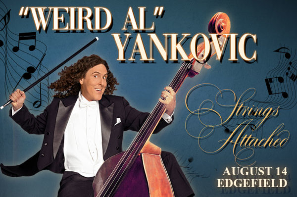 None - Weird Al Yankovic - 8/14 @ McMenamins Edgefield