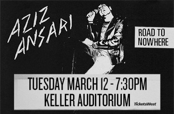 None -  Aziz Ansari - 3/12 @ Keller Auditorium