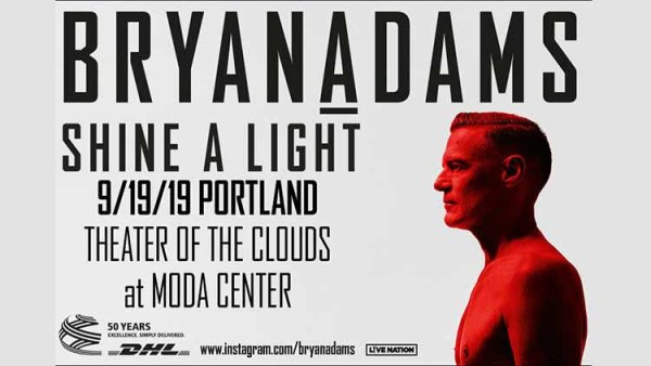 None - Bryan Adams - 9/19 @ Moda Center
