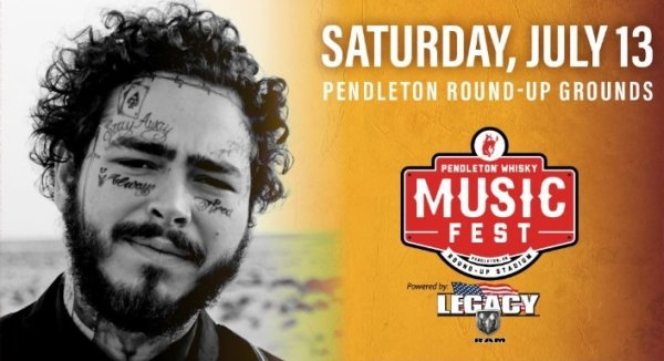 None -  Post Malone - 7/13 @ Pendleton Whisky Music Fest